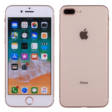 for iphone 8 plus color screen non working dummy display model gold alexnld