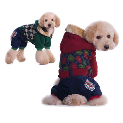 new year clothes for dogs clothes pets coats soft cotton puppy clothes