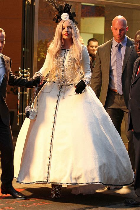 Gaga Dress gaga princess gown gaga looks stylebistro