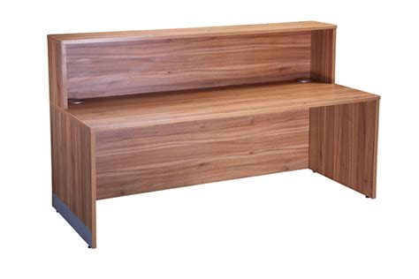 walnut reception desk executive office reception desk american