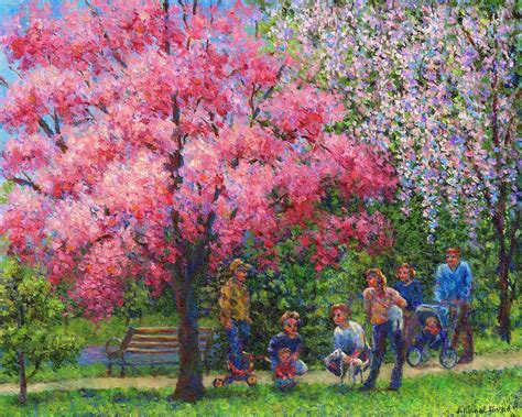 spring paint one spring morning by susan savad