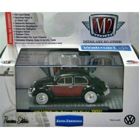 M2 Machines Volkswagen Beetle m2 machines auto thentics vw 1954 vw beetle deluxe usa