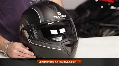Shark Evoline 3 ST Moov'Up Helmet Review at RevZilla.com