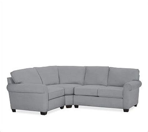 small 3 piece sectional sofa buchanan right 3 piece small sectional with corner wedge