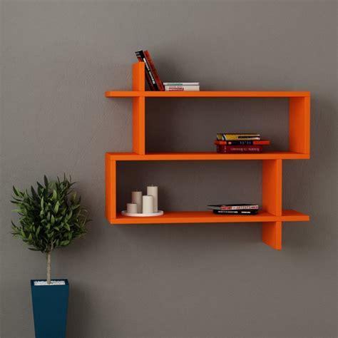 Orange Wall Shelf by Paralel Wall Shelf Orange Display And