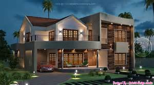 House Design Style 2015 by Kerala Home Design At 3075 Sq Ft New Best House Design Ideas