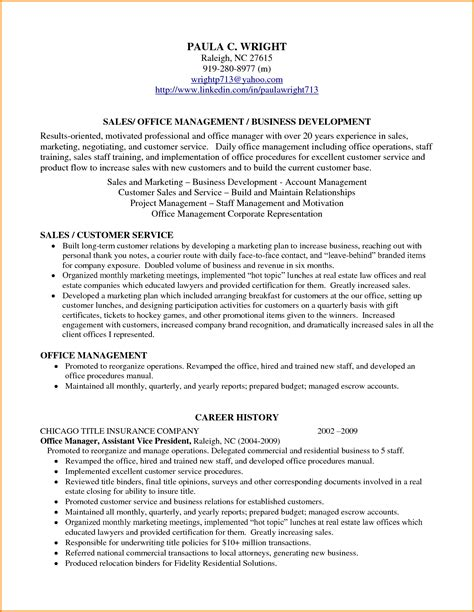 Resume With Profile Statement Exle by 7 Resume Profile Statement Authorization Letter