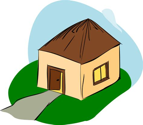 Build A Small House clipart hut
