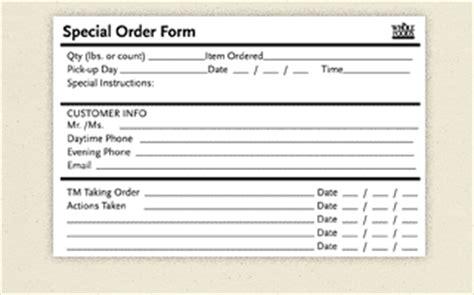 special order form template ogden printing wf supply portal