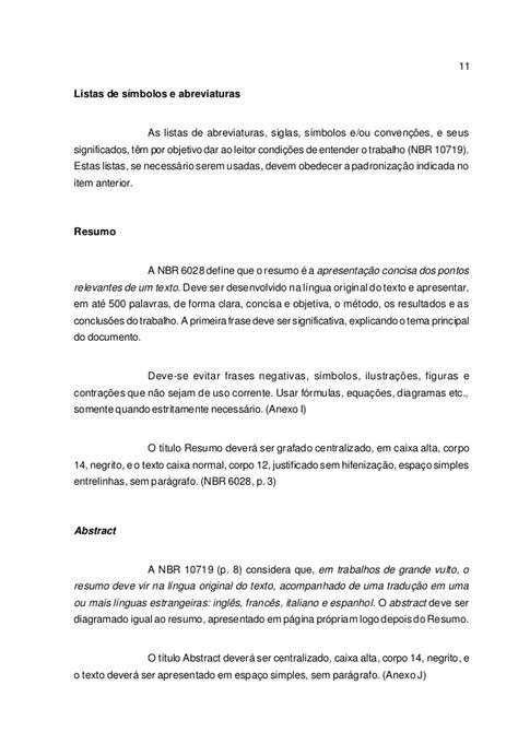 ABNT 1063 - NORMAS PARA A PADRONIZAÇÃO DE TRABALHOS ACADÊMICOS