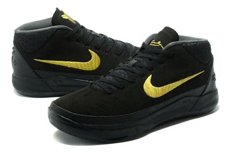 Ad Blackgold nike a d gs black gold shoes