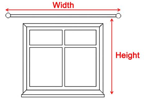 how to measure window for curtains the curtain studio in usk south wales curtain measuring