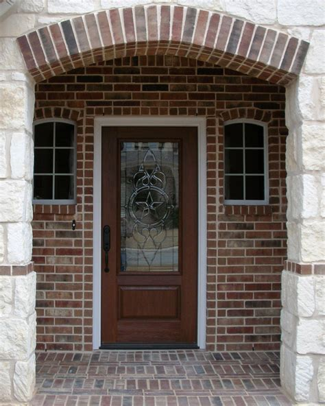Decorative Front Door Exciting Entry Door With Lite Combined Carving Glazing Decor And Iron Trellis Also Wooden