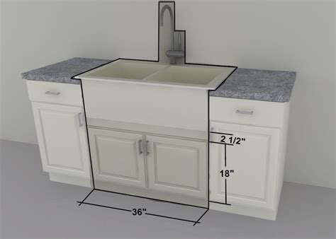 apron sink base cabinet ikea custom cabinets 36 quot farm sink or gas cooktop units