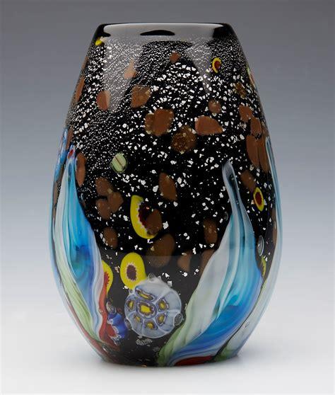 Venetian Glass Vase Prices by Venetian Murano Maestro Vase Gl1505002 Second