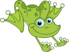 cartoon frog drawings clipart
