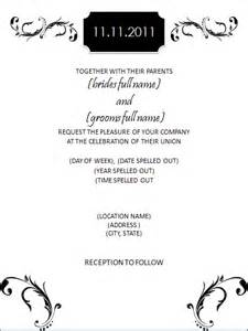 black and white wedding invitation templates black and white scroll wedding invitation template