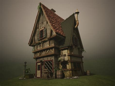 who buys old houses 3d old house textured by tavernier666 on deviantart