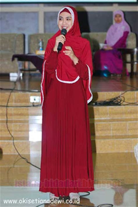 tutorial jilbab oki jilbab lebar ala oki setiana dewi
