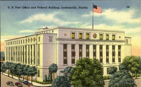 Us Post Office Jacksonville Fl by U S Post Office And Federal Building Jacksonville Fl