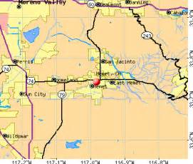 map hemet california area information about hemet california inside the inland empire
