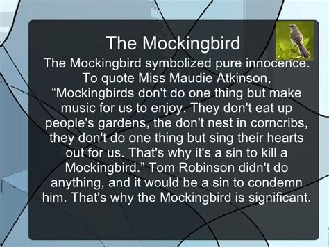 to kill a mockingbird themes and symbols powerpoint to kill a mockingbird quotes significance image quotes at