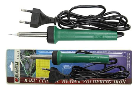 solder tangan bakku cs 30 ceramic heater element soldering iron with a thermocouple