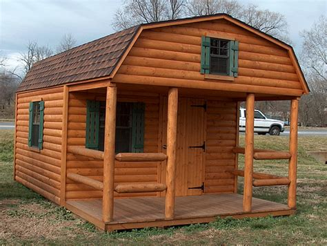 Log Storage Shed by Log Storage Buildings Log Barns Alan S Factory Outlet