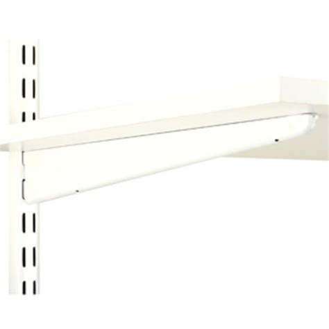 White Wooden Shelf Brackets Dual Trak 14 Quot White Wood Shelf Bracket At Menards 174