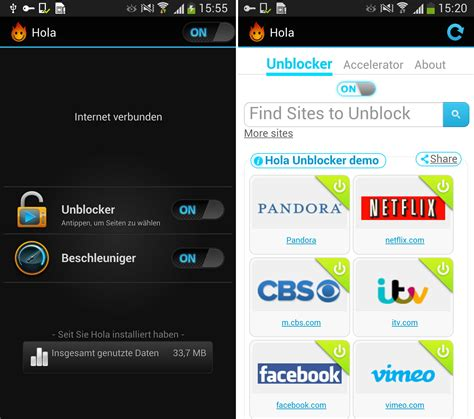 hola android hola android app entsperrt pandora co chip