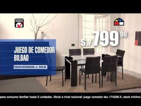 comedor homecenter motivo muebles sodimac peru youtube
