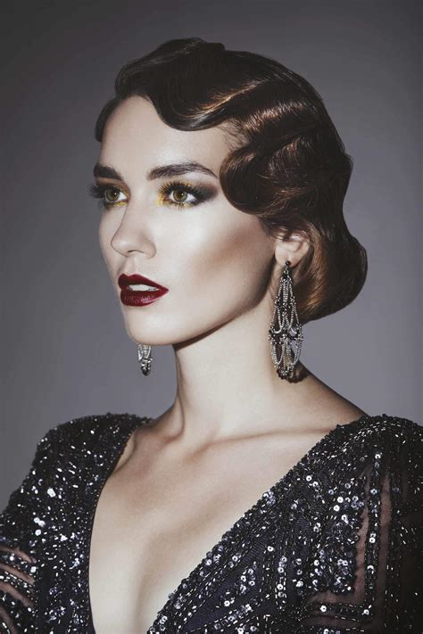 gatsby long hairstyles great gatsby hair ideas for halloween and beyond