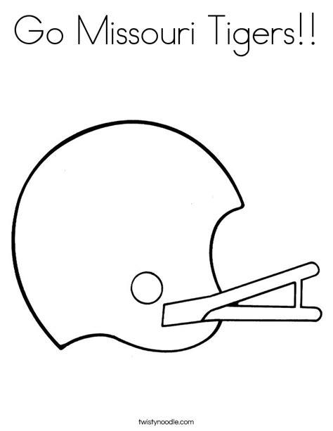 go templates for pages missouri tigers coloring pages printable coloring pages