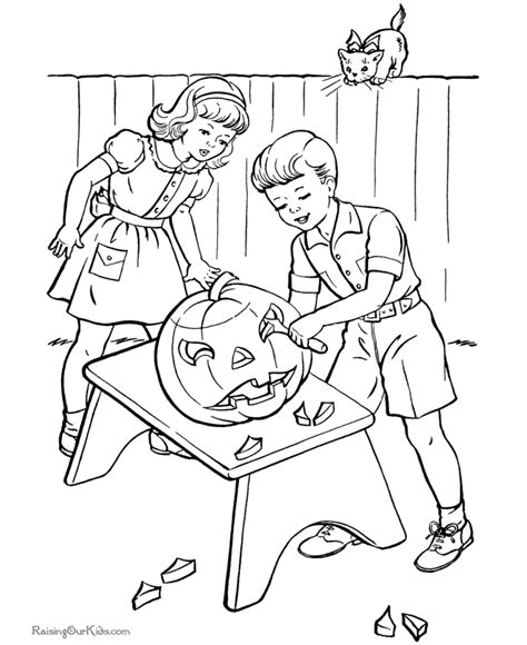pumpkin carving coloring pages pumpkin carving party coloring pages