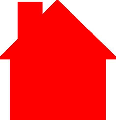 house logos house logo red clip art at clker com vector clip art online royalty free public domain