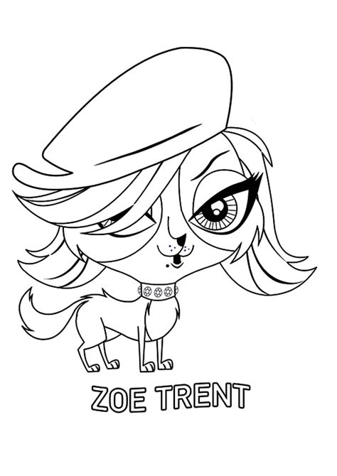 littlest pet shop coloring pages to print my littlest pet