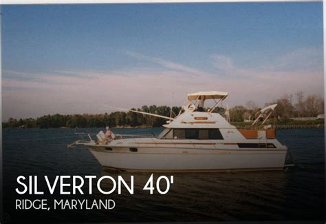 Silverton 40 Aft Cabin Review sold silverton 40 aft cabin in ridge md pop yachts