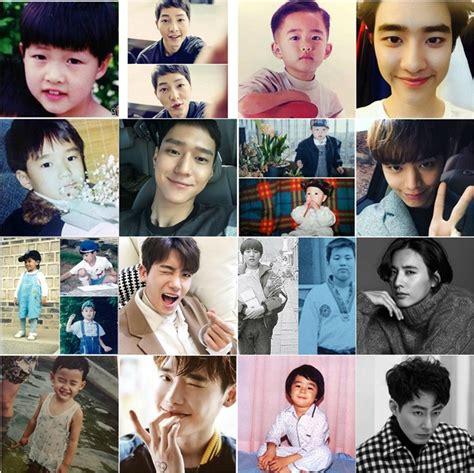Jepit Rambut Kecil Korea sekarang ganteng unyunya joong ki d o cs saat bocah dijamin bikin gemes kabar berita