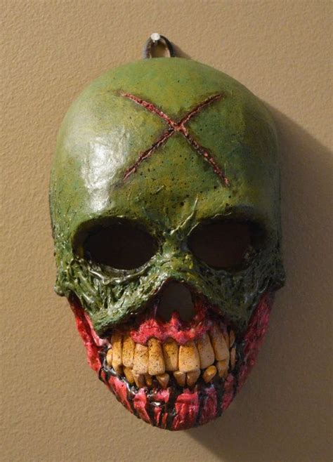 Make A Paper Mache Mask - papier mache mask skeletor is always an option so many