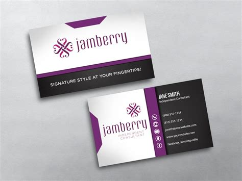 jamberry sle card template jamberry business cards free shipping