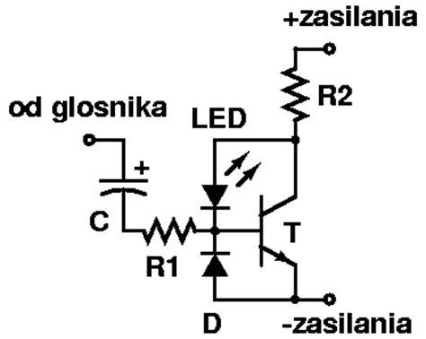 dioda w rytm muzyki dioda mrugająca w rytm muzyki najprostsze rozwiązanie