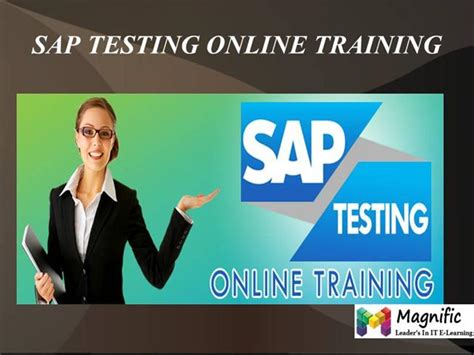 sap testing tutorial pdf sap testing online training in australia authorstream