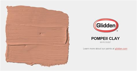 clay color paint pompeii clay paint color glidden paint colors