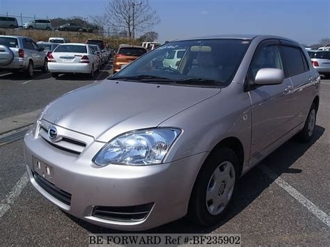 Beforward Toyota Corolla Used Corolla Runx Toyota For Sale Bf235902 Japanese