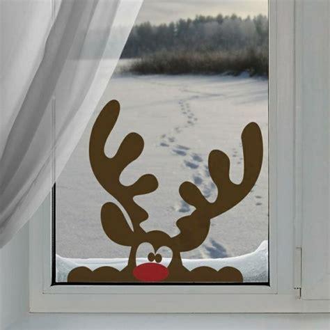 Fensterdekoration Weihnachten Mit Vorlagebö Und Einem Kreidestift by Die Besten 25 Fensterbilder Weihnachten Ideen Auf