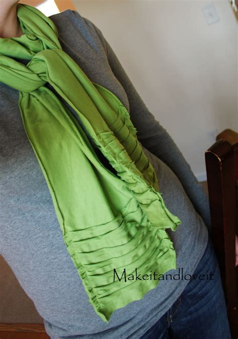crafts make a scarf out of a t shirt 171 stayfunnie