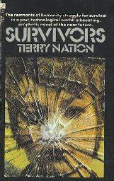 adrian a vire s thirst books survivors by terry nation nebula books