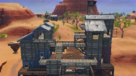 fortnite challenge visit  pirate camps guide polygon