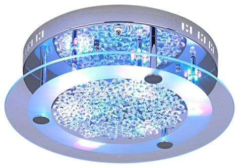 possini led light show floating jewels ceiling