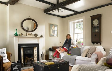 Tiny Living Homes Janet Hamilton In The Living Room Of Her Traditional Irish